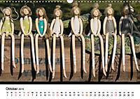 Tausendschön - handgeferigte Tonwesen (Wandkalender 2019 DIN A3 quer) - Produktdetailbild 10