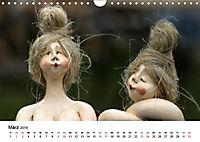 Tausendschön - handgeferigte Tonwesen (Wandkalender 2019 DIN A4 quer) - Produktdetailbild 3