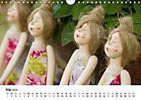Tausendschön - handgeferigte Tonwesen (Wandkalender 2019 DIN A4 quer) - Produktdetailbild 5