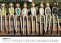 Tausendschön - handgeferigte Tonwesen (Wandkalender 2019 DIN A4 quer) - Produktdetailbild 10