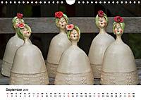 Tausendschön - handgeferigte Tonwesen (Wandkalender 2019 DIN A4 quer) - Produktdetailbild 9