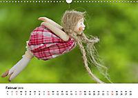 Tausendschön - handgeferigte Tonwesen (Wandkalender 2019 DIN A3 quer) - Produktdetailbild 2