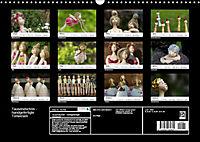 Tausendschön - handgeferigte Tonwesen (Wandkalender 2019 DIN A3 quer) - Produktdetailbild 13