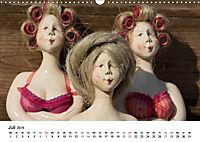 Tausendschön - handgeferigte Tonwesen (Wandkalender 2019 DIN A3 quer) - Produktdetailbild 7