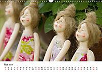 Tausendschön - handgeferigte Tonwesen (Wandkalender 2019 DIN A3 quer) - Produktdetailbild 5