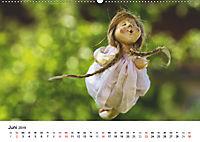 Tausendschön - handgeferigte Tonwesen (Wandkalender 2019 DIN A2 quer) - Produktdetailbild 6