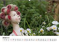 Tausendschön - handgeferigte Tonwesen (Wandkalender 2019 DIN A2 quer) - Produktdetailbild 1