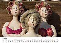 Tausendschön - handgeferigte Tonwesen (Wandkalender 2019 DIN A2 quer) - Produktdetailbild 7