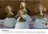 Tausendschön - handgeferigte Tonwesen (Wandkalender 2019 DIN A2 quer) - Produktdetailbild 11