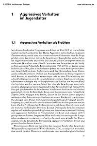 TAV - Trainingsprogramm zur Aggressions-Verminderung bei Jugendlichen, Leitfaden für Gruppenleiter - Produktdetailbild 1