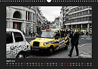 Taxis in London / UK-Version (Wall Calendar 2019 DIN A3 Landscape) - Produktdetailbild 4