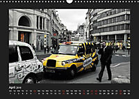 Taxis in London / UK-Version (Wall Calendar 2019 DIN A3 Landscape) - Produktdetailbild 4