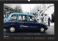 Taxis in London / UK-Version (Wall Calendar 2019 DIN A3 Landscape) - Produktdetailbild 5