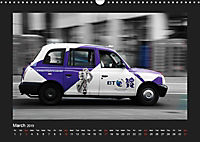 Taxis in London / UK-Version (Wall Calendar 2019 DIN A3 Landscape) - Produktdetailbild 3