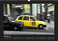 Taxis in London / UK-Version (Wall Calendar 2019 DIN A3 Landscape) - Produktdetailbild 1