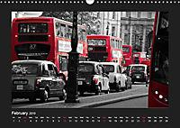 Taxis in London / UK-Version (Wall Calendar 2019 DIN A3 Landscape) - Produktdetailbild 2