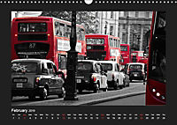 Taxis in London / UK-Version (Wall Calendar 2019 DIN A3 Landscape) - Produktdetailbild 2