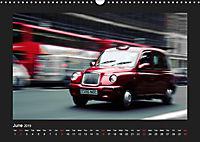 Taxis in London / UK-Version (Wall Calendar 2019 DIN A3 Landscape) - Produktdetailbild 6