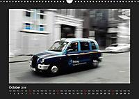 Taxis in London / UK-Version (Wall Calendar 2019 DIN A3 Landscape) - Produktdetailbild 10