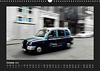 Taxis in London / UK-Version (Wall Calendar 2019 DIN A3 Landscape) - Produktdetailbild 10