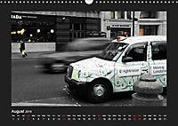 Taxis in London / UK-Version (Wall Calendar 2019 DIN A3 Landscape) - Produktdetailbild 8
