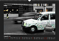 Taxis in London / UK-Version (Wall Calendar 2019 DIN A3 Landscape) - Produktdetailbild 8