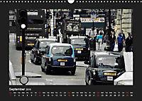 Taxis in London / UK-Version (Wall Calendar 2019 DIN A3 Landscape) - Produktdetailbild 9