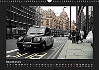 Taxis in London / UK-Version (Wall Calendar 2019 DIN A3 Landscape) - Produktdetailbild 11