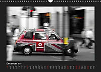 Taxis in London / UK-Version (Wall Calendar 2019 DIN A3 Landscape) - Produktdetailbild 12