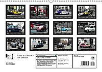 Taxis in London / UK-Version (Wall Calendar 2019 DIN A3 Landscape) - Produktdetailbild 13