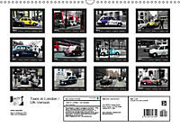 Taxis in London / UK-Version (Wall Calendar 2019 DIN A3 Landscape) - Produktdetailbild 13