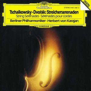 Tchaikovsky / Dvorák: String Serenades, Herbert von Karajan, Bp