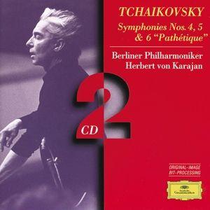 Tchaikovsky: Symphonies Nos.4 & 5, Herbert von Karajan, Bp