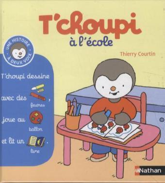 T'choupi à l' école, Thierry Courtin