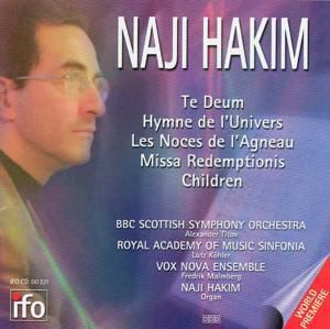 Te Deum/hymne De L Univers, Hakim