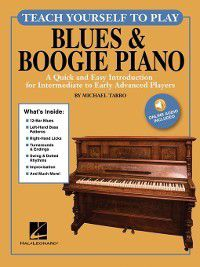 Teach Yourself to Play Blues & Boogie Piano, Michael Tarro