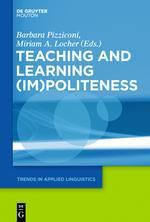 Teaching and Learning (Im)Politeness
