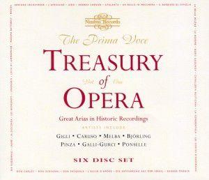 Teasury Of Opera, Gigli, Caruso, Björling
