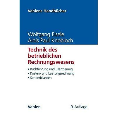 Technik Des Betrieblichen Rechnungswesens Buch Portofrei