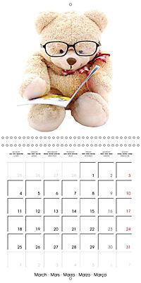 Teddy Time (Wall Calendar 2019 300 × 300 mm Square) - Produktdetailbild 3