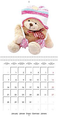 Teddy Time (Wall Calendar 2019 300 × 300 mm Square) - Produktdetailbild 1