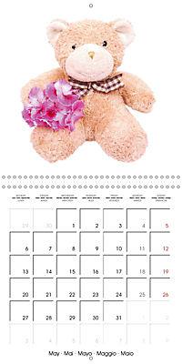 Teddy Time (Wall Calendar 2019 300 × 300 mm Square) - Produktdetailbild 5