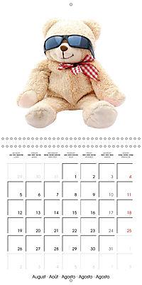 Teddy Time (Wall Calendar 2019 300 × 300 mm Square) - Produktdetailbild 8