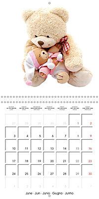 Teddy Time (Wall Calendar 2019 300 × 300 mm Square) - Produktdetailbild 6
