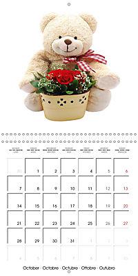 Teddy Time (Wall Calendar 2019 300 × 300 mm Square) - Produktdetailbild 10