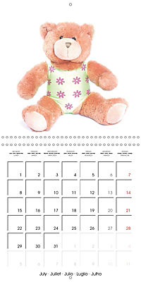 Teddy Time (Wall Calendar 2019 300 × 300 mm Square) - Produktdetailbild 7