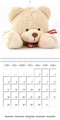 Teddy Time (Wall Calendar 2019 300 × 300 mm Square) - Produktdetailbild 11