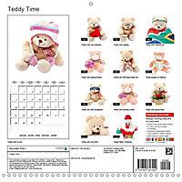 Teddy Time (Wall Calendar 2019 300 × 300 mm Square) - Produktdetailbild 13