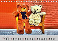 TEDDYBÄR, OH TEDDYBÄR... (Tischkalender 2019 DIN A5 quer) - Produktdetailbild 1