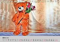 TEDDYBÄR, OH TEDDYBÄR... (Tischkalender 2019 DIN A5 quer) - Produktdetailbild 3